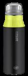 ALFI Trinkflasche element Bottle black-lime 0,6 l