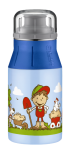 ALFI Trinkflasche element Bottle Farm blau 0,4 l