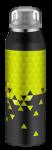 ALFI Trinkflasche Isobottle black-lime 0,5 l