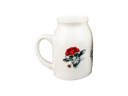 Schwarzwälder Milchkännchen Porzellan