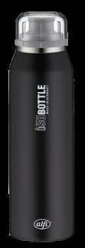 ALFI Trinkflasche Isobottle Pure schwarz 0,5 l