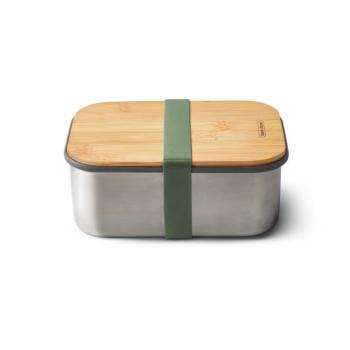 Black+Blum Edelstahl Sandwich Box, Olive