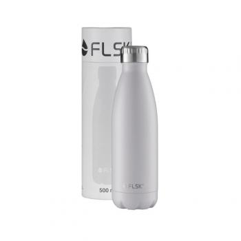 FLSK Trinkflasche weiß 0,5 l
