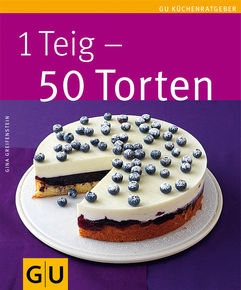 GU 1 Teig - 50 Torten