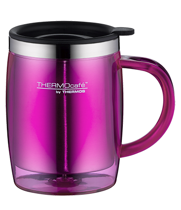 THERMOS Trinkbecher Desktop Mug pink