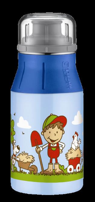 ALFI Trinkflasche element Bottle Farm blau 0,4 l