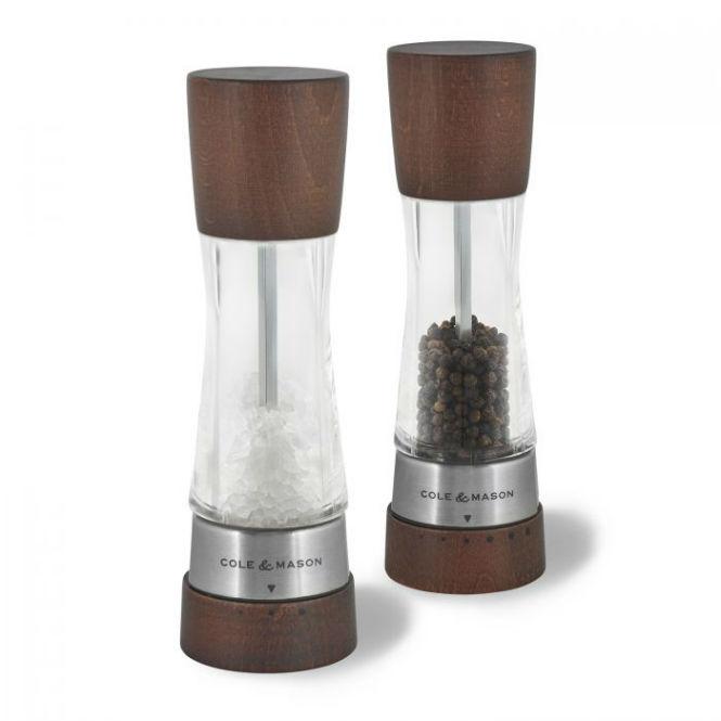 """COLE & MASON Salz- und Pfeffermühle Gourmet Precision """"Forest"""""""